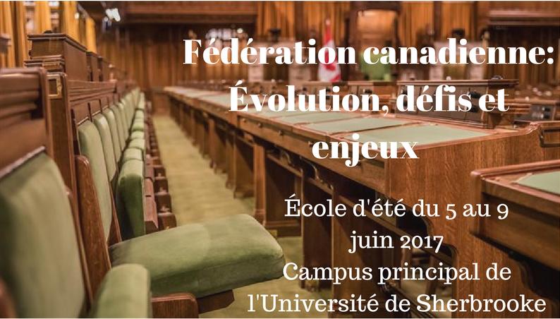 Fédération canadienne- Évolution, défis et enjeux